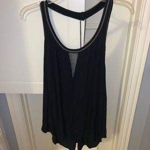 Free people backless tank